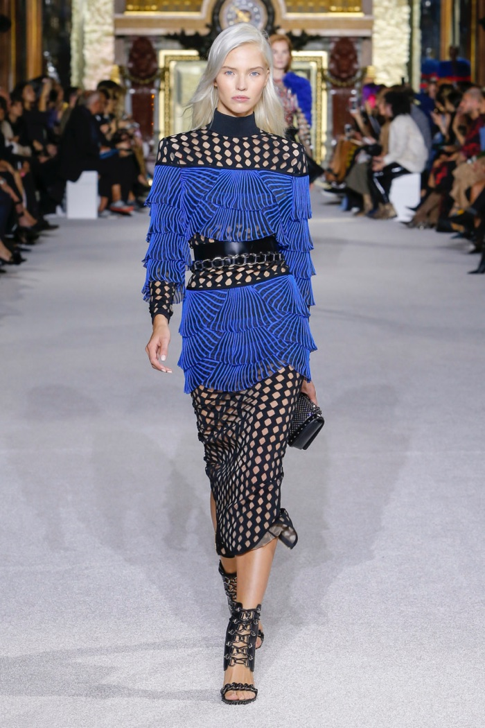 The Balmain girl lives for a power play
